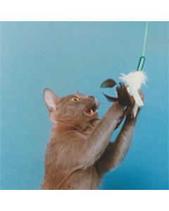 Vee's PURRfect Feather Cat Toy