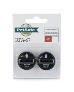 PetSafe RFA-67 6 Volt Batteries (2 Pack)