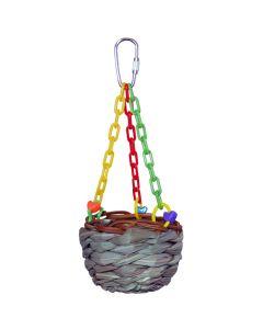 Super Bird Hanging Treat Basket