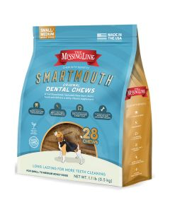 The Missing Link Smartmouth Dental Dog Chews