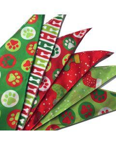 Cozymo Bandanas Assorted Christmas Patterns [72 Pack]