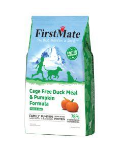 FirstMate Cage Free Duck Meal & Pumpkin Formula Dog Food