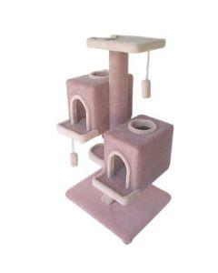 TomCat Duplex Condo Scratching Post (Assorted Colours) TC150
