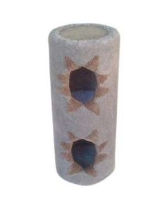TomCat Double Tube Scratching Post (Assorted Colours) TC85