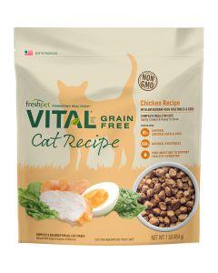 Freshpet Vital Chicken Cat Food 1lb