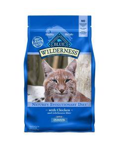 Blue Wilderness Chicken Indoor Adult Cat Food