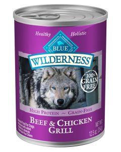 Blue Wilderness Beef & Chicken Grill Dog Food [354g]