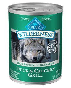 Blue Wilderness Duck & Chicken Grill Dog Food [354g]