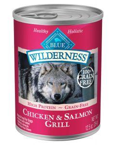 Blue Wilderness Salmon & Chicken Grill Dog Food [354g]