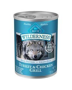 Blue Wilderness Turkey & Chicken Grill Dog Food [354g]