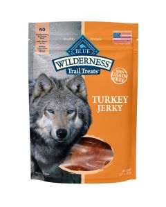 Blue Wilderness Trail Treats Turkey Jerky Dog Treats [92g]
