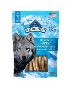 Blue Wilderness Denali with Stix Salmon, Venision & Halibut Dog Treats [170g]