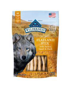 Blue Wilderness Flatland Stix Turkey, Quail & Duck Dog Treats [170g]