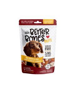 Zeus Better Bones BBQ Chicken Flavour Chicken Wrapped Mini Bones [12 Pack]