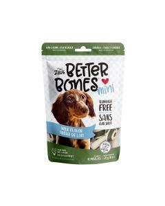 Zeus Better Bones Milk Flavour Mini Bones [12 Pack]