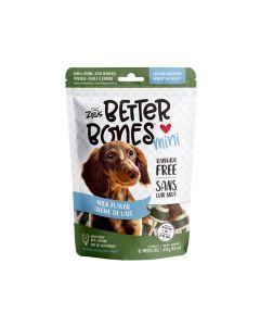 Zeus Better Bones Milk Flavour Chicken Wrapped Mini Bones [12 Pack]