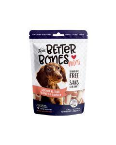 Zeus Better Bones Salmon Flavour Mini Bones [12 Pack]