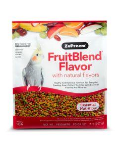 ZuPreem Cockatiel FruitBlend Food (2lb)
