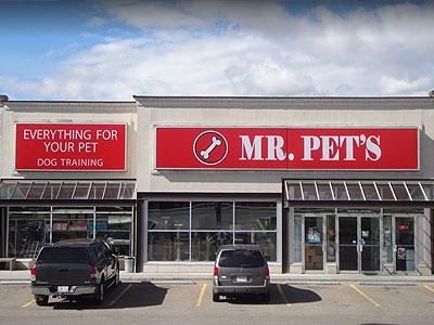 Mr Pet's St Albert Store Front